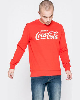 Bluza Jack and Jones roșu
