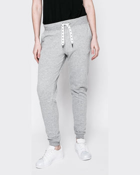 Pantaloni Only absolute casual gri deschis