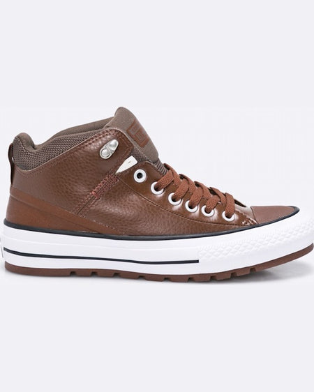 Tenisi Converse chuck taylor as street boot maro închis
