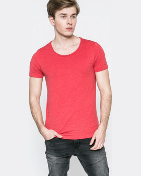 Tricou Review coral