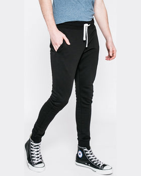 Pantaloni Jack and Jones negru