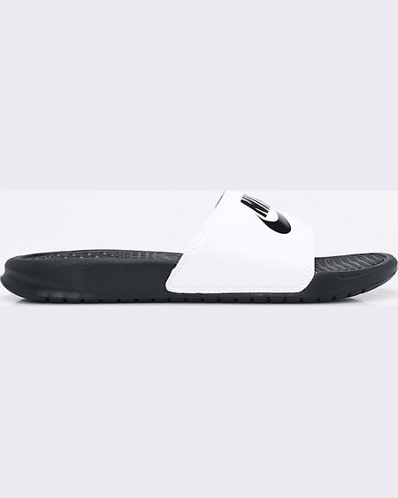 Papuci Nike benassi just do it alb