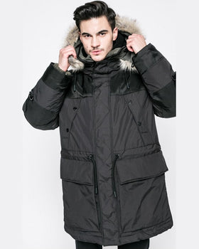 Parka G-Star Raw hanorac negru