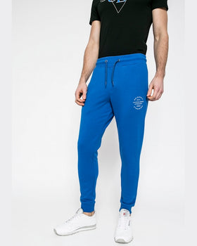 Pantaloni Jack and Jones albastru