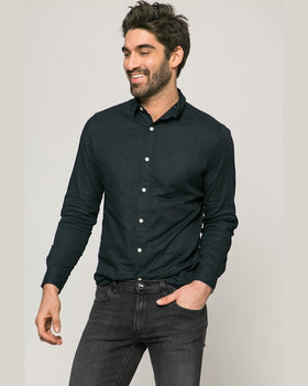 Camasa Eleganta Neagra Jack and Jones