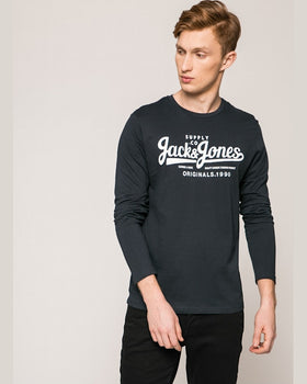 Longsleeve Jack and Jones bleumarin