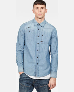 Camasa G-Star Raw Albastra Denim