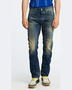 Jeanși Jack and Jones eric vintage bleumarin