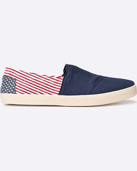 Tenisi Toms pantofi canvas flag mens avalon sneake multicolor