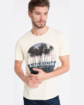 Tricou Jack and Jones măsliniu deschis