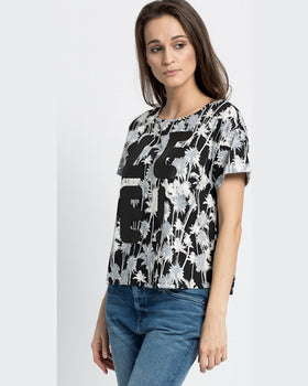 Top Lee palm tree negru