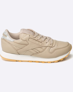 Pantofi Reebok cl lthr met diamond transparent