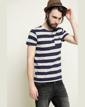 Tricou Scotch and Soda gri
