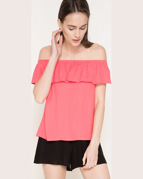Bluza Answear because of you coral