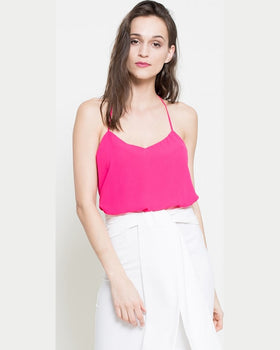 Top Missguided culorea fucsiei