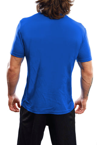 "Men's ""Beast"" Performance Crew - Blue"