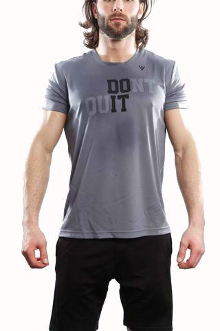 "Men's ""DO IT"" Short Sleeve - Steel"