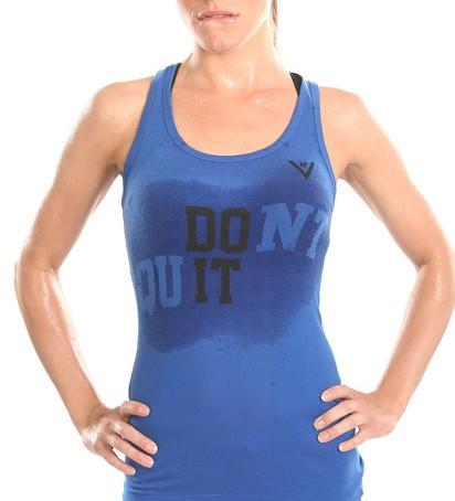 "Women's ""DO IT"" Tank - Blue"