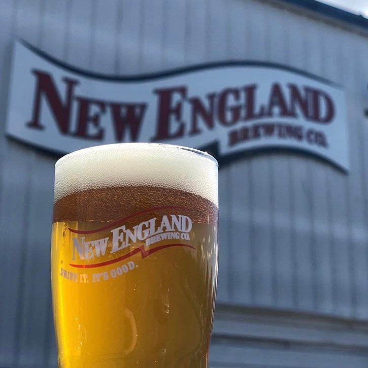 New England Brewing Co  |  Fuzzy Baby Ducks IPA
