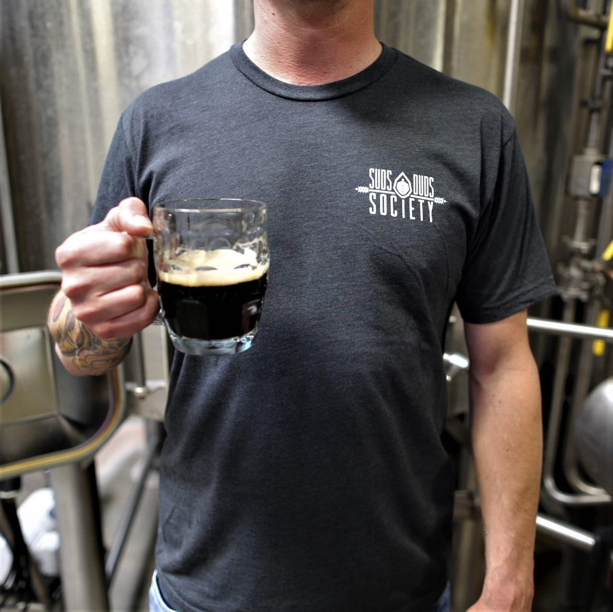 Men's Brewery T-Shirt Membership- Six Month Recurring