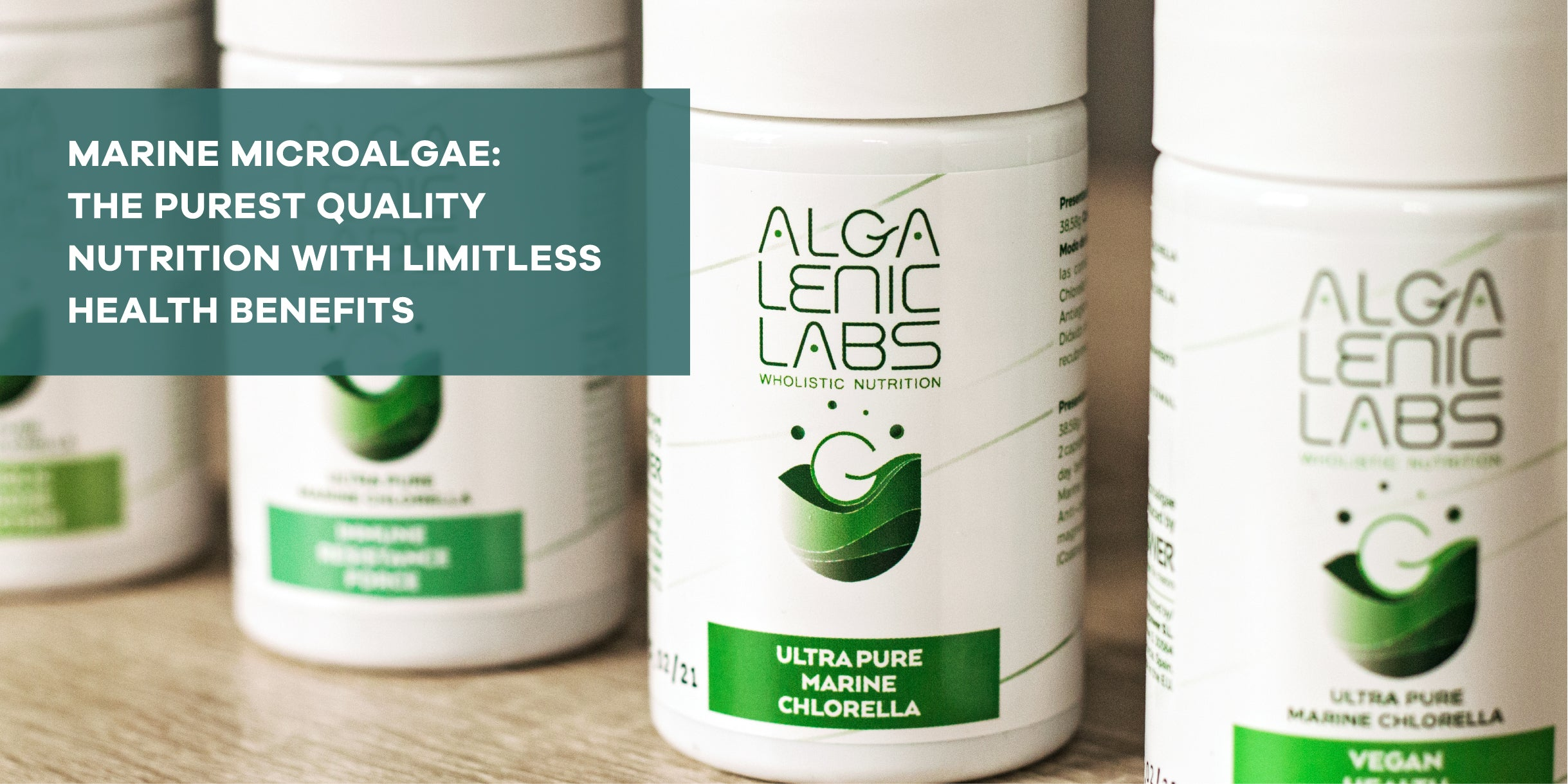 Algalenic Labs Marine Microalgae Chlorella Supplements