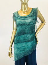Silk Layered Top (Multiple Colors)