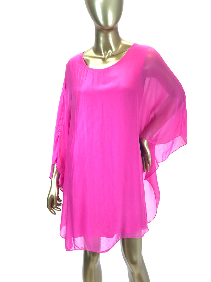 Silk Butterfly Dress/Tunic (Multiple Colors)