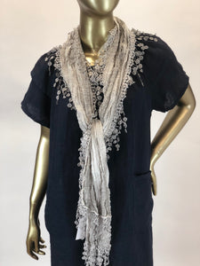 Cotton Tassel Scarf
