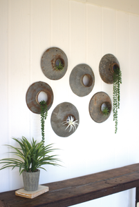 Repurposed Metal Wall Hanging