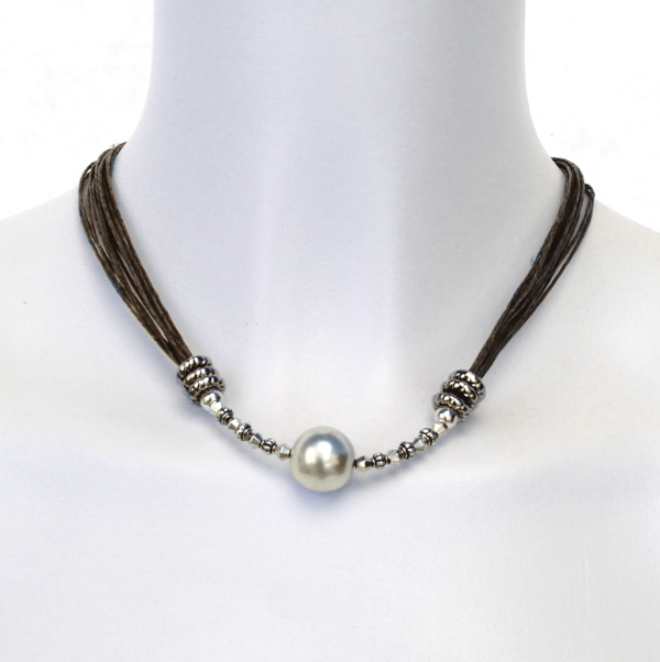 Linen Necklace - Jessy