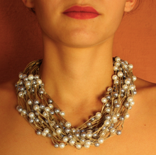 Linen Necklace - Cali