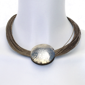 Linen Necklace - Baya