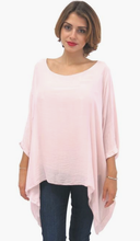 Silk Hanging Poncho (Multiple Colors)