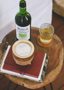 Bordeaux Blanc Barrel Aged Candle