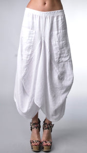 Linen Pocket Skirt