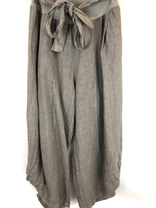 Cropped Linen Pant (Multiple Colors)