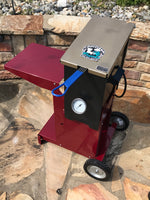 "Louisiana Fryers ""Red Snapper"" 3 gallon Cajun deep fryer with cart"