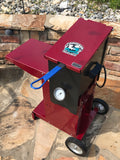 Louisiana fish fryer top view Garnet Powder coat finish