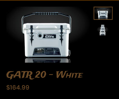 WHITE GATR COOLERS
