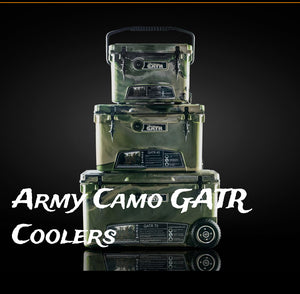 ARMY CAMO GATR COOLERS
