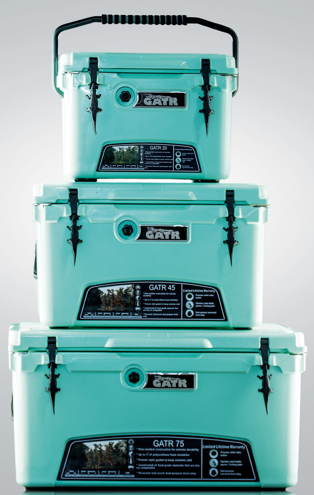 SEA GREEN COOLERS