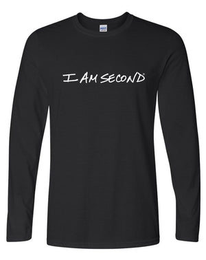 I Am Second Unisex Logo Long Sleeve