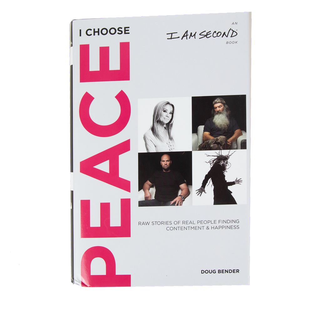 I Choose Peace Hardcover Book