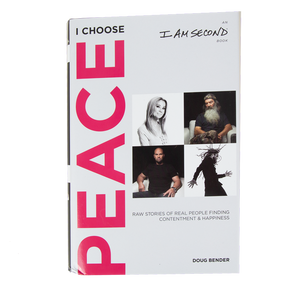 I Am Second Choose Peace Hardback Book