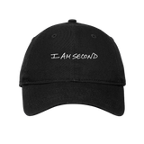 I Am Second New Era Classic Black Hat