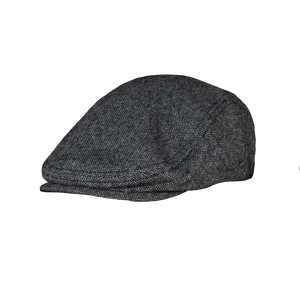 Black/Gray Cabby Hat