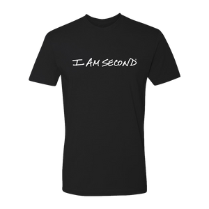 I Am Second Unisex Premium Black Tee