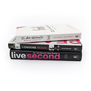 I Am Second Three Book Bundle