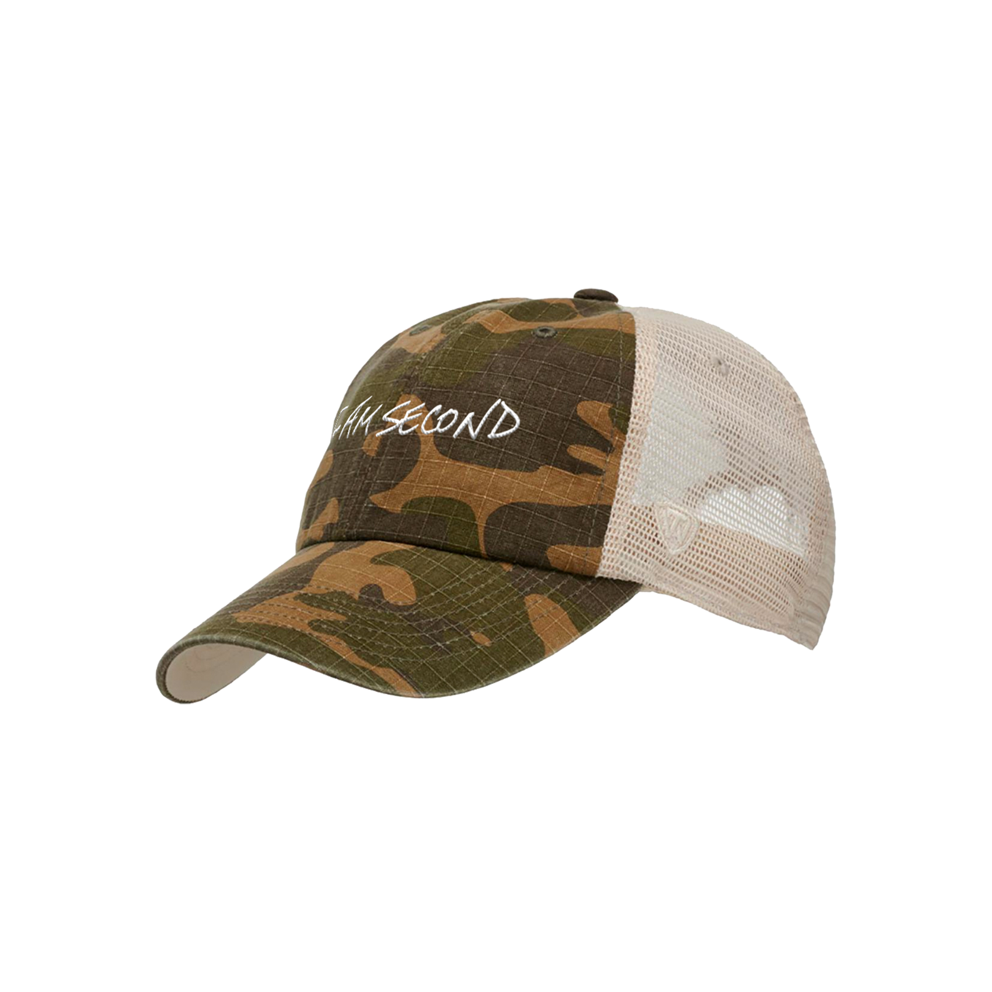 Unisex Top of the World Camo Hat
