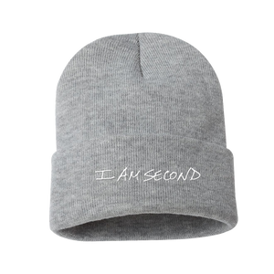 I Am Second Heather Grey Beanie